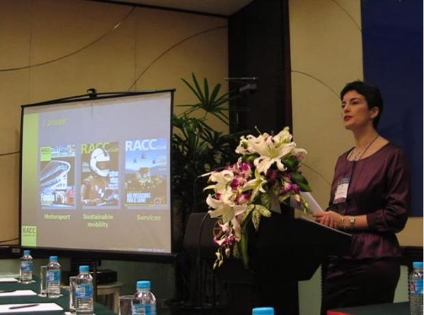 Palmira Lopez Fresno Directora de Calidad del RACC