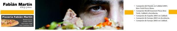 Campeón del Mundo de Pizzas en Calidad y Acrobacia